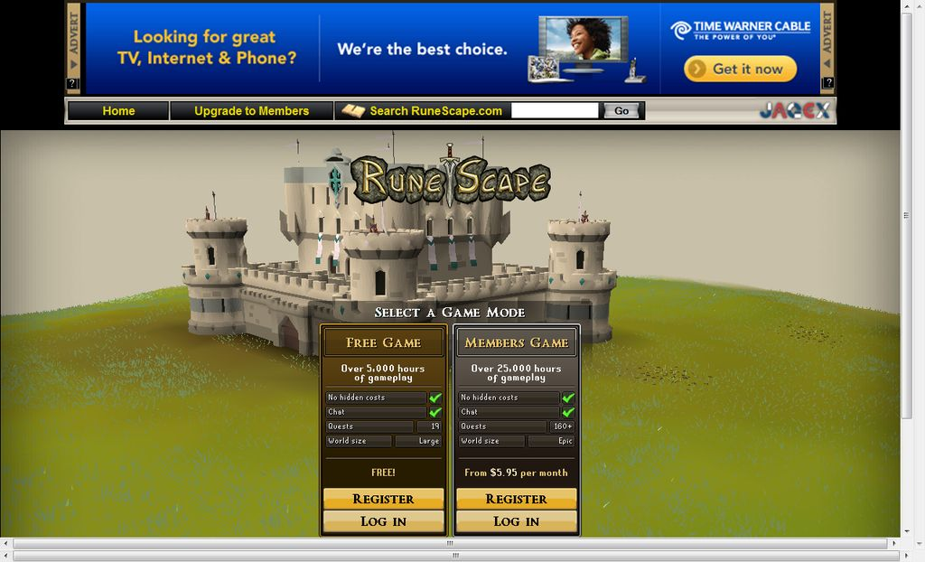 Internet Explorer Side modifications 4 Come Here To Play Runescape In Full Screen
