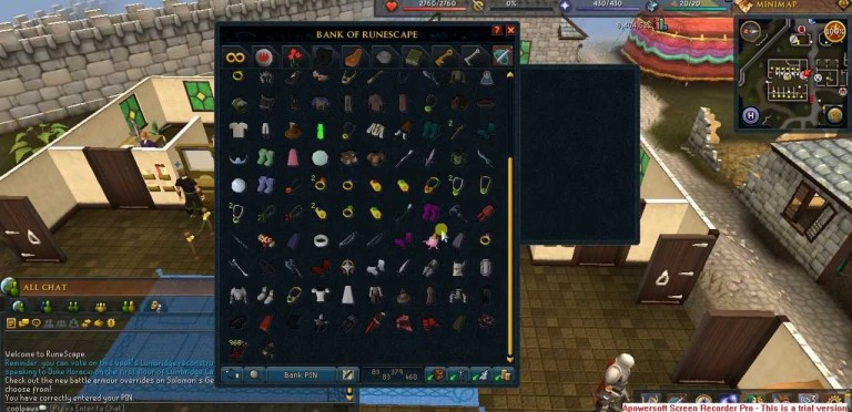 runescape-banking-system