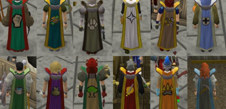 Master skillcapes