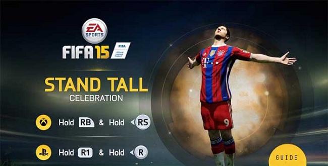 celebration, FIFA 15