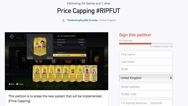 EA, red card, FIFA 15 coin seller
