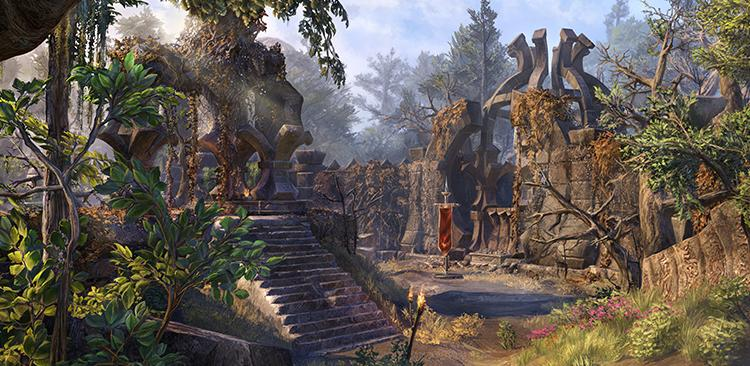 The Elder Scrolls Online Revealed Third Map Of Battlegrounds: Ularra