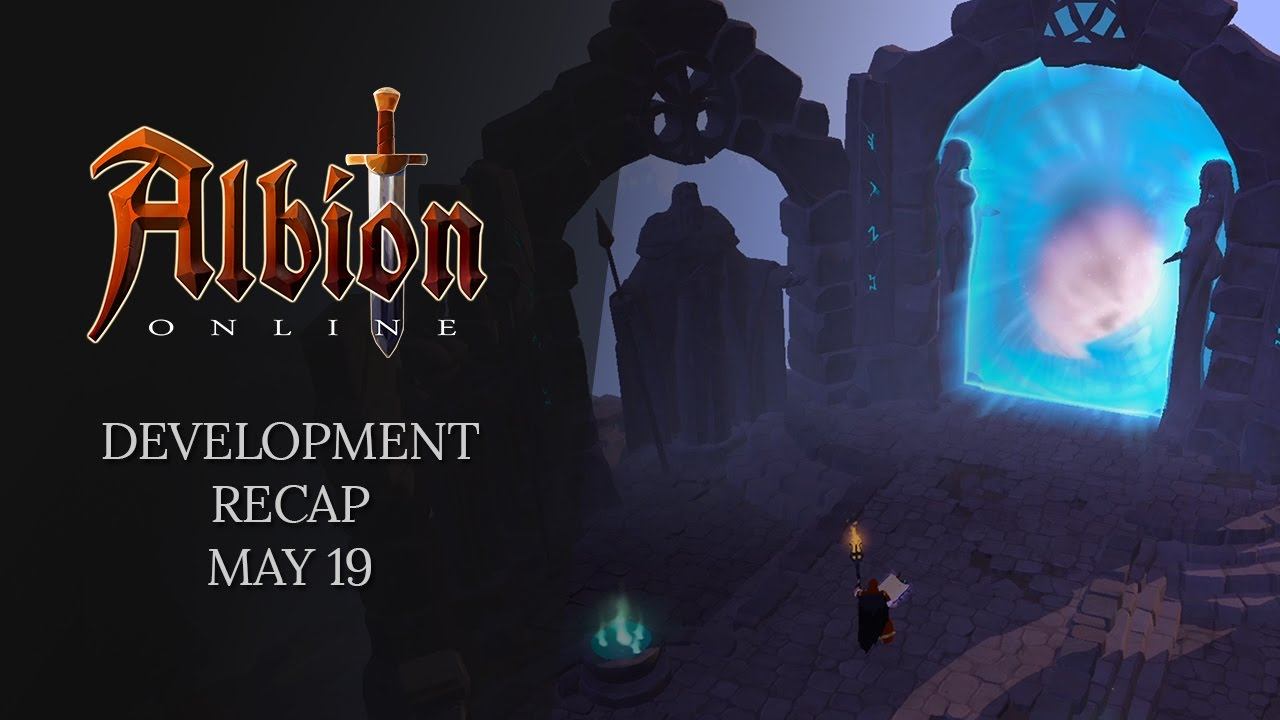 Albion Online: Portal Will Be Used In Black Zone Citiy - Caerleon