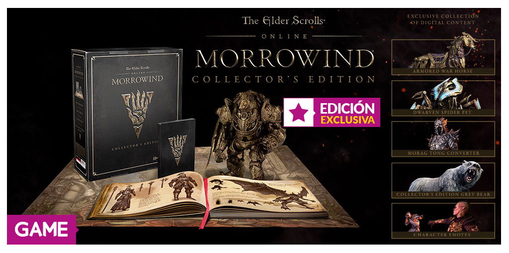 The Elder Scrolls Online: Morrowind – Physical Collector's Edition