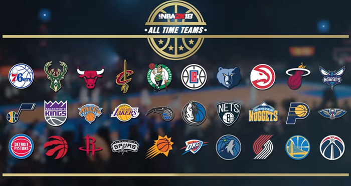 NBA 2K18 Is Unveiling The Most Emblematic NBA Stars