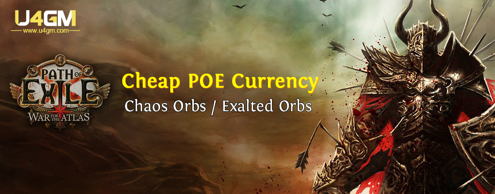 Looking For Cheap PoE Items Supplier Like U4GM
